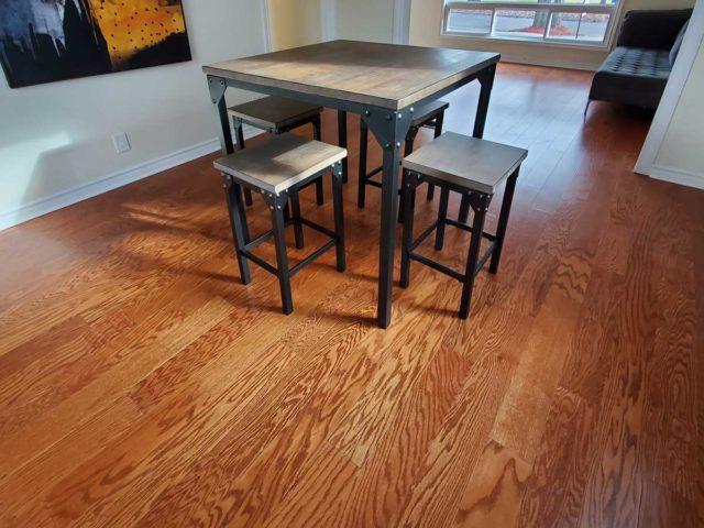 Engineered Hardwood Floor Installation